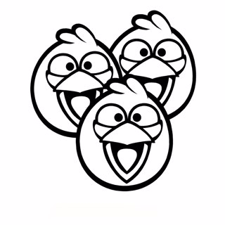 Angry Birds coloring page 5