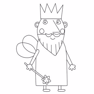 Ben and Holly's Little Kingdom coloring page 6
