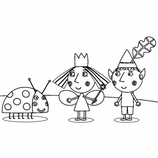 Ben and Holly's Little Kingdom coloring page 11