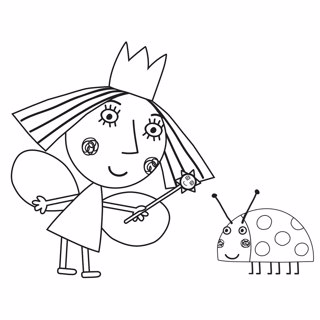 Ben and Holly's Little Kingdom coloring page 10