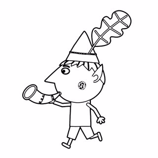 Ben and Holly's Little Kingdom coloring page 9