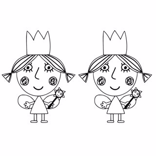 Ben and Holly's Little Kingdom coloring page 4
