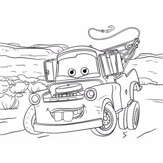 Cars coloring page 13