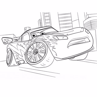 Cars coloring page 11