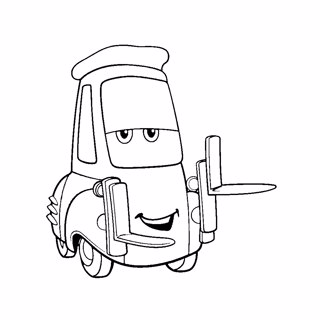 Cars coloring page 8