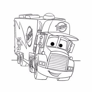 Cars coloring page 9