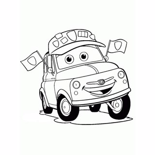 Cars coloring page 5