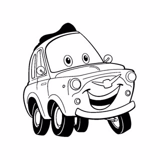Cars coloring page 6