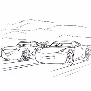 Cars coloring page 12