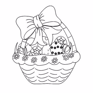 Easter coloring page 10