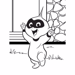 Incredibles coloring page 6