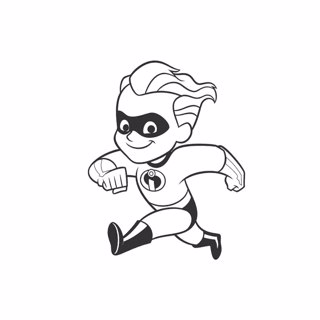Incredibles coloring page 11