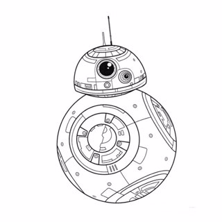 Star Wars coloring page 8