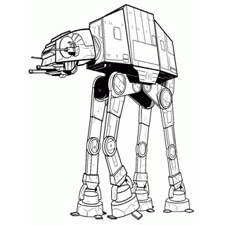 Star Wars coloring page 3