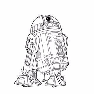 Star Wars coloring page 1