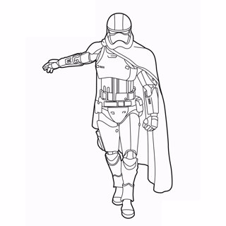 Star Wars coloring page 2
