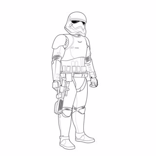 Star Wars coloring page 5